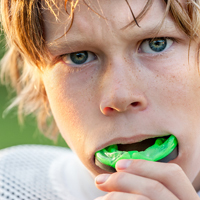 Athletes of all ages, skill levels, and types should wear protective mouthguards to prevent injuries. Your dentist can assist you in choosing the right mouth guard for your activities and specific dental needs. If you have any fixed orthodontic appliances, be sure to make an appointment with your dentist to discuss which mouthguard option is the best for you.